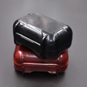 Knowledge Zenith Case Kotak Penyimpanan Earphone Pelican ABS Resin Waterproof Box - Black - 10