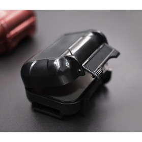 Knowledge Zenith Case Kotak Penyimpanan Earphone Pelican ABS Resin Waterproof Box - Black - 11