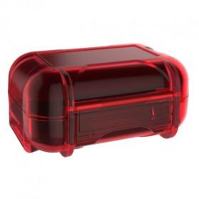 Knowledge Zenith Case Kotak Penyimpanan Earphone Pelican ABS Resin Waterproof Box - Red