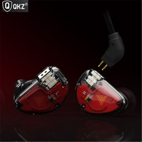 QKZ HiFi Earphone Bass Dynamic Driver with Mic - QKZ-VK5 - Black