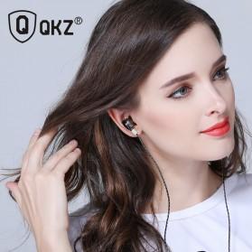 QKZ HiFi Earphone 6 Loudpseaker Dynamic Driver with Mic - QKZ-KD6 - Black - 6