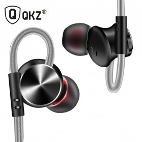 QKZ HiFi Earphone Bass Dynamic Driver with Mic - QKZ-DM10 - Black