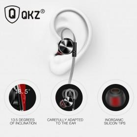 QKZ HiFi Earphone Bass Dynamic Driver with Mic - QKZ-DM10 - Black - 4
