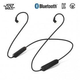 KZ Bluetooth APTX Cable Pin MMCX for Earphone - Black - 3