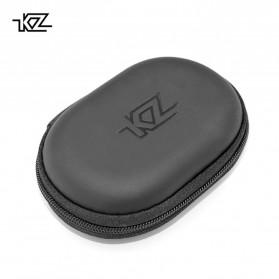 Knowledge Zenith Kotak Penyimpanan Earphone EVA Case - KZ015 - Black
