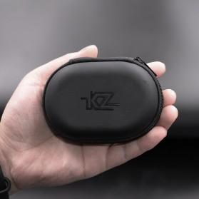 Knowledge Zenith Kotak Penyimpanan Earphone EVA Case - KZ015 - Black - 2