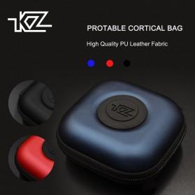 Knowledge Zenith Kotak Penyimpanan Earphone EVA Case - ZS10 - Red - 3