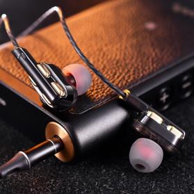 QKZ In-Ear Earphones Bass HIFI Headset with Microphone - QKZ-AK4 - Black - 2