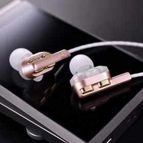 QKZ In-Ear Earphones Bass HIFI Headset with Microphone - QKZ-AK4 - Black - 6
