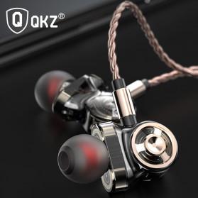 QKZ In-Ear Earphones Bass HIFI Headset with Microphone - QKZ-CK10 - Black - 6