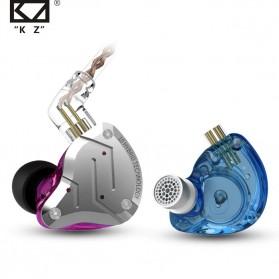 Knowledge Zenith Earphone HiFi 1DD + 4BA Driver with Mic - KZ-ZS10 Pro - Golden - 2