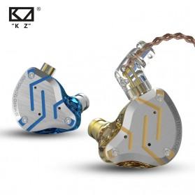 Knowledge Zenith Earphone HiFi 1DD + 4BA Driver with Mic - KZ-ZS10 Pro - Golden - 3