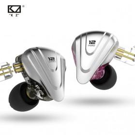 Knowledge Zenith Terminator Earphone HiFi  1DD + 5BA Driver with Mic - KZ-ZSX - Green - 2