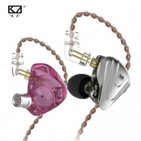 Knowledge Zenith Terminator Earphone HiFi  1DD + 5BA Driver with Mic - KZ-ZSX - Green - 4