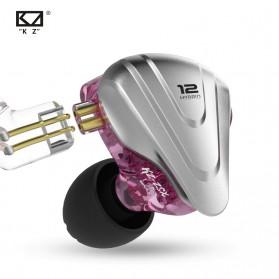 Knowledge Zenith Terminator Earphone HiFi  1DD + 5BA Driver with Mic - KZ-ZSX - Green - 5