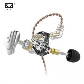 Knowledge Zenith Terminator Earphone HiFi  1DD + 5BA Driver with Mic - KZ-ZSX - Green - 6