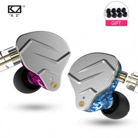 Knowledge Zenith Hybrid HiFi Earphone 1BA+1DD with Mic - KZ-ZSN Pro - Gray - 2