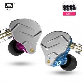 Knowledge Zenith Hybrid HiFi Earphone 1BA+1DD with Mic - KZ-ZSN Pro - Blue - 2
