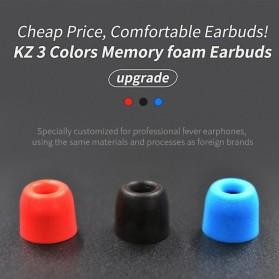 Knowledge Zenith Earbuds Eartips Memory Foam 3 Size - Black - 2