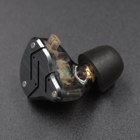 Knowledge Zenith Earbuds Eartips Memory Foam 3 Size - Black - 5
