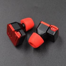 Knowledge Zenith Earbuds Eartips Memory Foam 3 Size - Black - 6