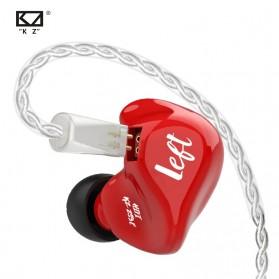 Knowledge Zenith Earphone HiFi Dynamic Driver - KZ-ZS3E - Red - 5