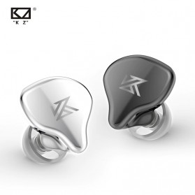 Knowledge Zenith TWS True Wireless Earphone Bluetooth 5.0 Dynamic Driver with Charging Dock - KZ-S1D - Black - 2