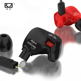Knowledge Zenith Earphone HiFi Dynamic Driver Noise Cancelling with Mic - KZ-ZS4 - Black - 3