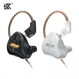 Knowledge Zenith Sports Earphone HiFi Dynamic Driver with Mic - KZ-EDX - Black - 2