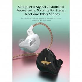 Knowledge Zenith Sports Earphone HiFi Dynamic Driver with Mic - KZ-EDX - Black - 7