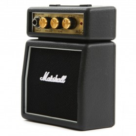 Marshall MS2 Mini Guitar Amplifier (ORIGINAL) - Black - 3