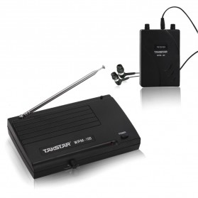 Takstar UHF Wireless Sound Monitoring System 50m - WPM-100 - Black