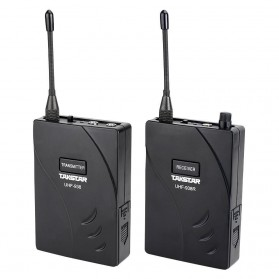Takstar UHF Wireless Tour Guide System 1 Receiver 1 Transmitter - UHF-938 - Black - 2