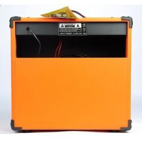 Live Music TG-60R Electric Guitar Amplifier Reverberation 3 Port 60W - Black/Orange - 4