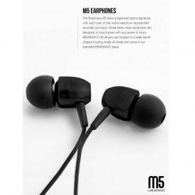 Brainwavz M5 Earphones - Black - 3
