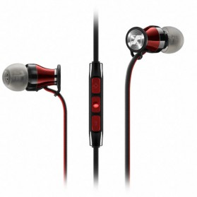 Sennheiser Momentum In-Ear Earphone with Microphone - iOS Version - Red