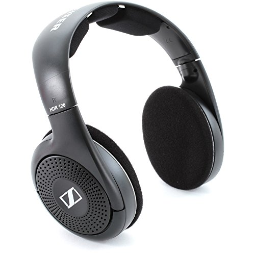 Sennheiser RS 120 II Wireless Headphones - Black - JakartaNotebook.com
