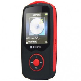 Ruizu X06 Bluetooth HiFi DAP MP3 Player 4GB - Red - 2