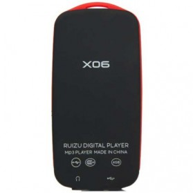 Ruizu X06 Bluetooth HiFi DAP MP3 Player 4GB - Red - 4