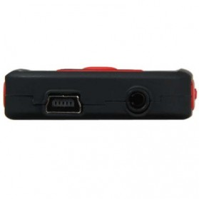 Ruizu X06 Bluetooth HiFi DAP MP3 Player 4GB - Red - 6