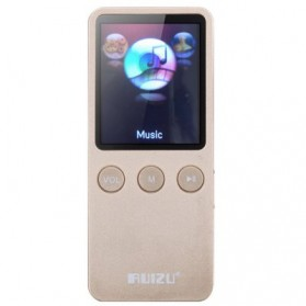 Ruizu X08 HiFi DAP Aesthetic Edition MP3 Player 8GB - Golden