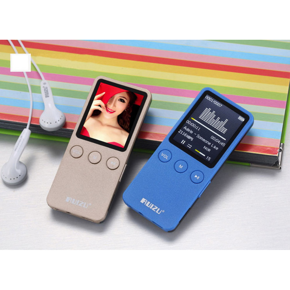 Ruizu X08 HiFi DAP Aesthetic Edition MP3 Player 8GB