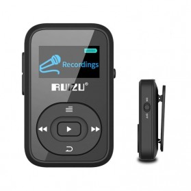 Ruizu X26 Sport Bluetooth HiFi DAP MP3 Player 8GB - Black - 2