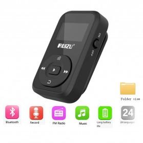 Ruizu X26 Sport Bluetooth HiFi DAP MP3 Player 8GB - Black - 7
