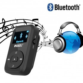 Ruizu X26 Sport Bluetooth HiFi DAP MP3 Player 8GB - Black - 8