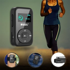 Ruizu X26 Sport Bluetooth HiFi DAP MP3 Player 8GB - Black - 10