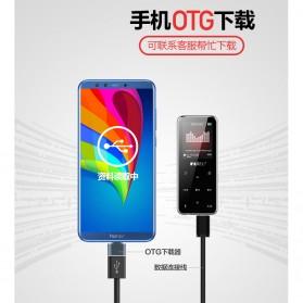Ruizu X16 Bluetooth HiFi DAP MP3 Player 8GB - Black - 3