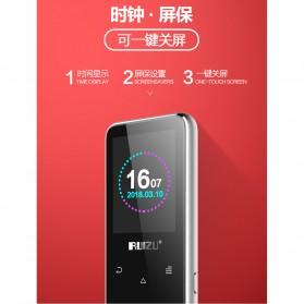 Ruizu X16 Bluetooth HiFi DAP MP3 Player 8GB - Black - 6