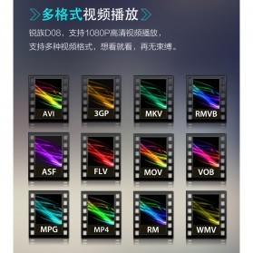Ruizu D08 HiFi DAP MP3 Player 8GB - Black - 4