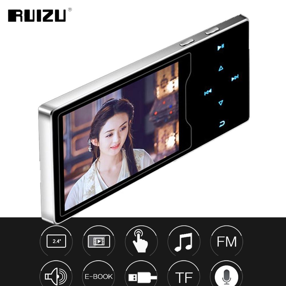 Ruizu D08 HiFi DAP MP3 Player 8GB - Black